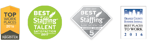 Best of Staffing & Top Places to Work!