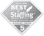 Best of Staffing Diamond Award