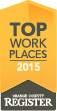 Top Work Place 2016 - Orangge County Register